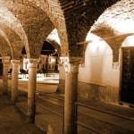 Portici Certosini in notturna